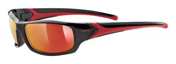 uvex sportstyle 211 black red/mirror red