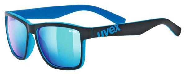 uvex lgl 39 black mat blue / mir.blue