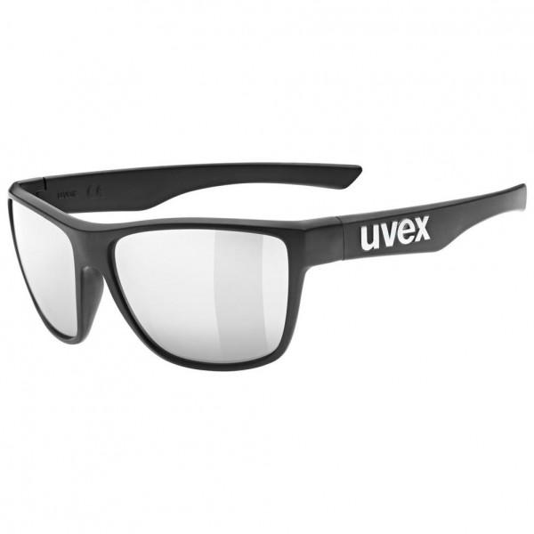 uvex lgl 41 black mat/mir.silver