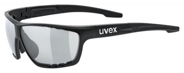 uvex sportstyle 706 v black mat / smoke