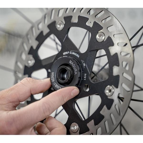 Bremsscheibe MDR-P CL, Center Lock mit Lockring für Steckachse