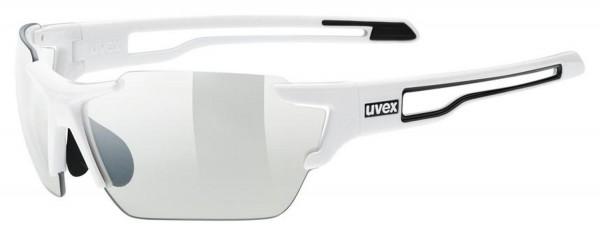 uvex sportstyle 803 v white / smoke