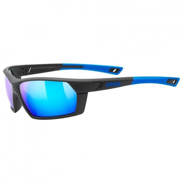 uvex sportstyle 225 blk.blu.m./mir.blue