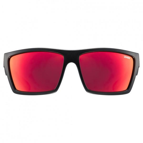 uvex lgl 29 black mat / mirror red