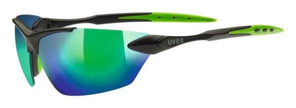 uvex sportstyle 203 black m.gr./mir.gree