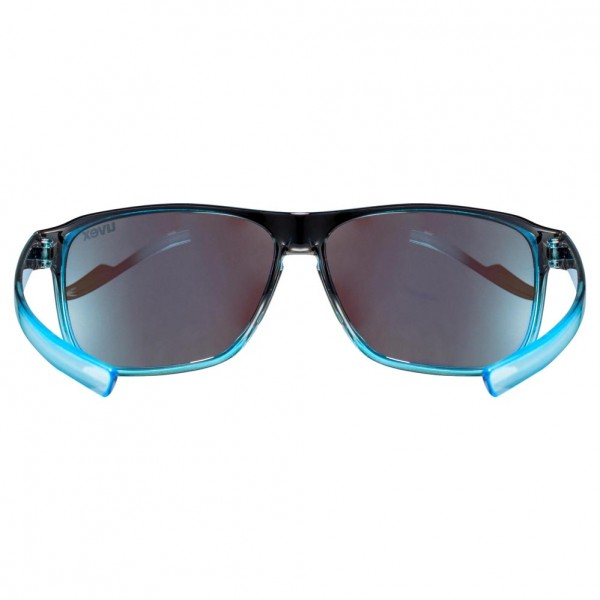 uvex lgl 33 pola black blue / mir.blue