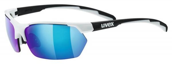 uvex sportstyle 114 whi.bl.mat/mir.blue