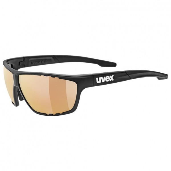 uvex sportstyle 706 cv vm blk.mat/lt.red