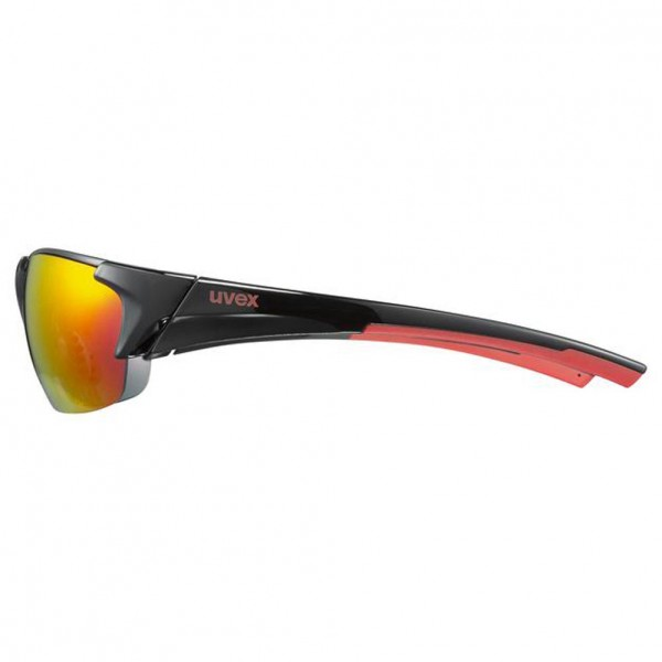 uvex blaze III black red / mir.red
