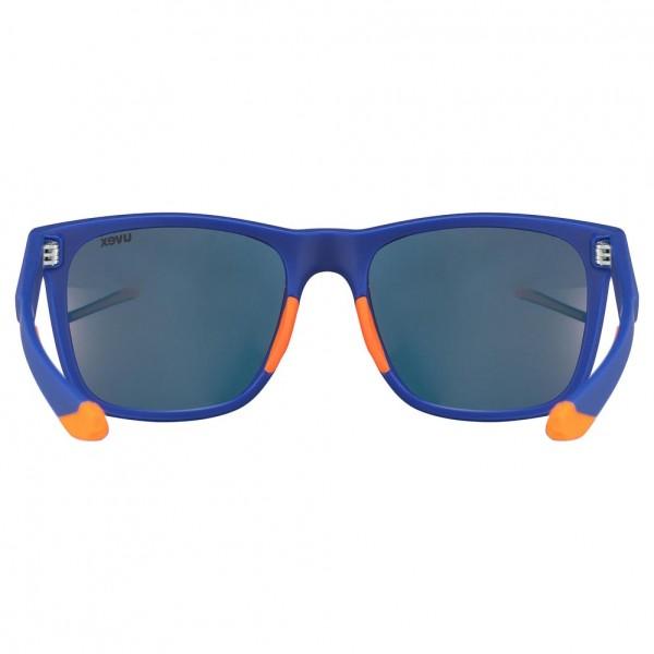 uvex lgl 42 blue orange mat/mir.red
