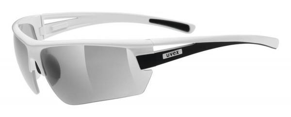 uvex gravic white black mat / ltm.silver