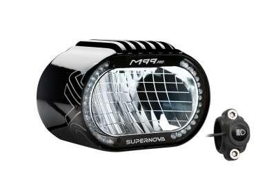 SUPERNOVA M99 Pro Scheinwerfer für E-Bike 45 Tagfahrlicht