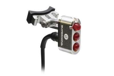 SUPERNOVA E3 Tail Light 2 Dynamorücklicht für Sattelstützmontage, 6V, StVZO, silver