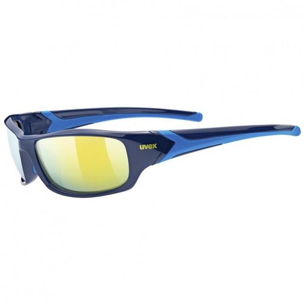 uvex sportstyle 211 blue / mirror yellow