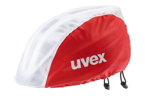 uvex rain cap bike red-white S/M