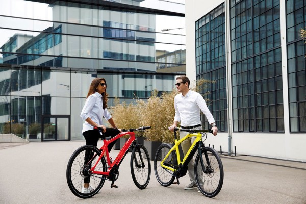 PININFARINA Evoluzione Sportiva E-Bike Carbon Shimano XT 11-Gang gelb