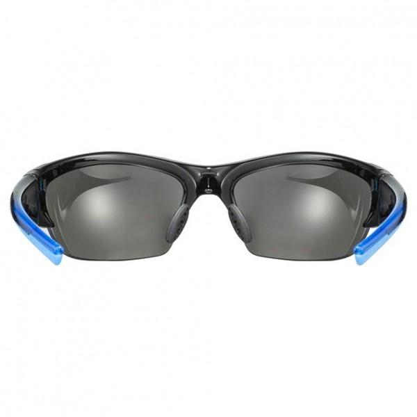 uvex blaze III black blue / mir.blue