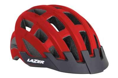 Lazer Bike-Helm COMPACT CE/RED UNISIZE