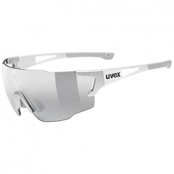 uvex sportstyle 804 v silver white/smoke