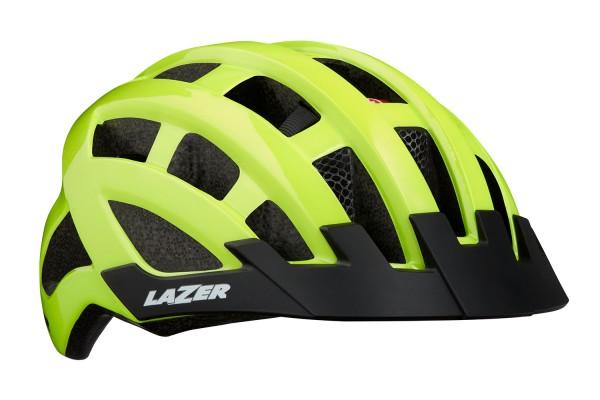 Lazer Bike-Helm COMPACT DLX/FLASH YELLOW UNISIZE
