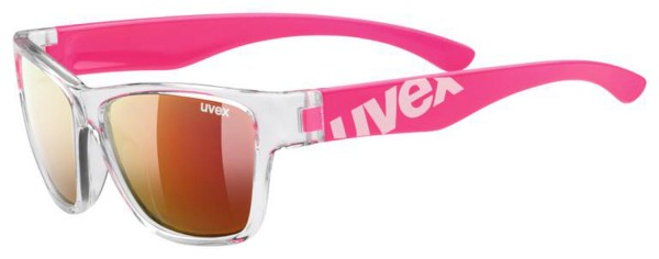 uvex sportstyle 508 clear pink / mir.red