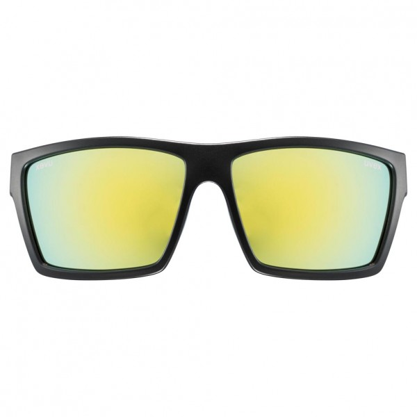 uvex lgl 29 black mat / mirror yellow