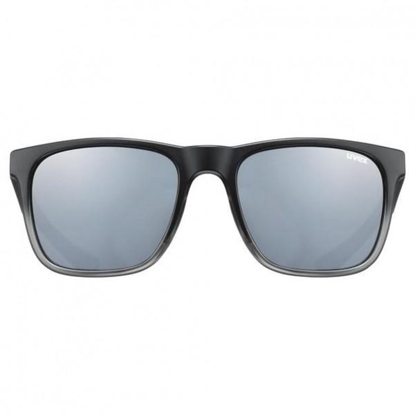 uvex lgl 42 black transparent/mir.silver