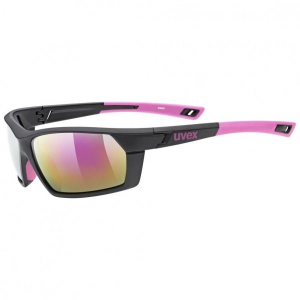 uvex sportstyle 225 blk pink mat/mir.pin