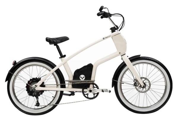 YouMo One X250 E-Bike City-Rider cremeweiss