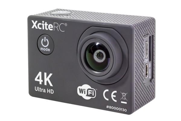 XciteRC WiFi 4K Action-Cam UHD 16MP schwarz