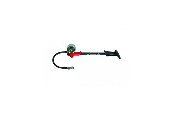 Federbein/Federgabel-Pumpe bis 20 bar, Abschrauben ohne Luftverlust durch spez. Ventil