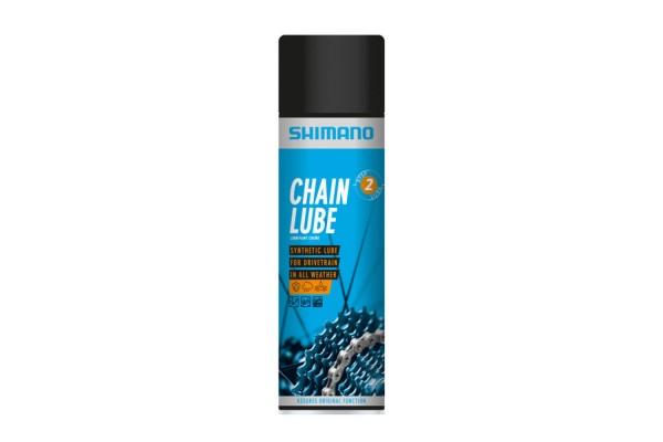 SHIMANO Sprühöl für Kette Sprühdose 400 ml