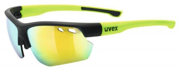 uvex sportstyle 115 black m.yel./mir.yel