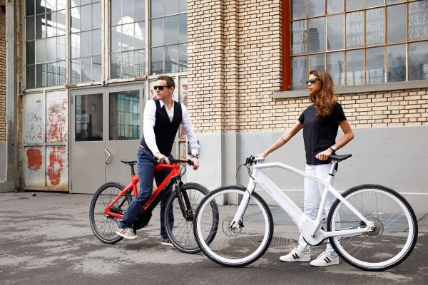PININFARINA Evoluzione Hi-Tech E-Bike Carbon NuVinci Riemenantrieb weiß