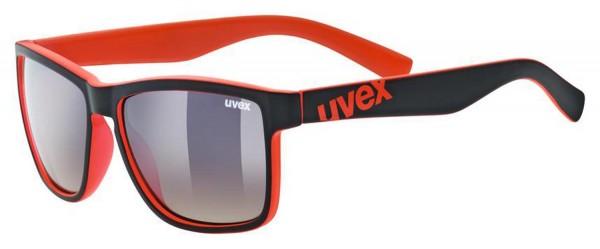 uvex lgl 39 black mat red/ltm.brown deg.