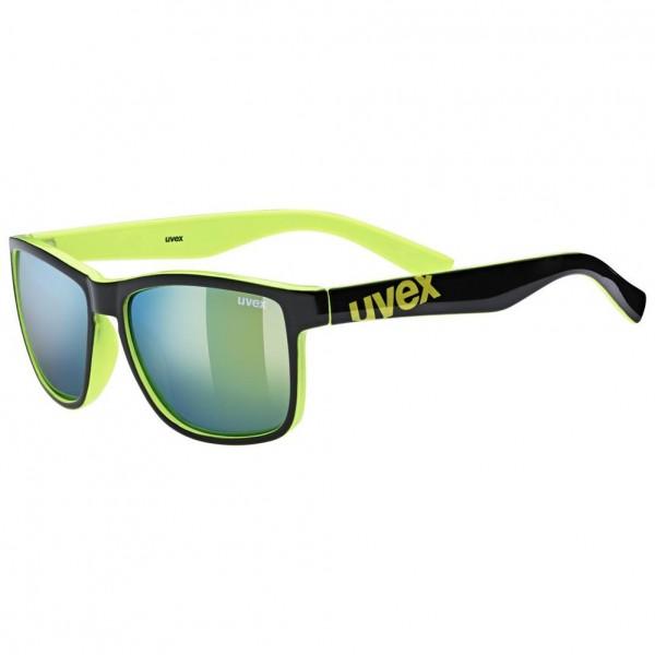 uvex lgl 39 black lime/mir.yellow