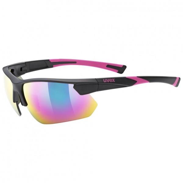 uvex sportstyle 221 blk pink m/mir.pink