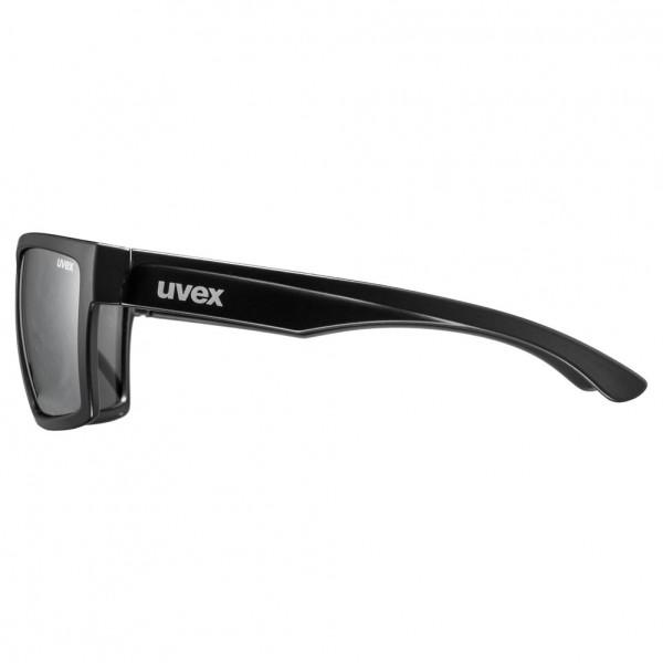 uvex lgl 29 black mat / mirror silver