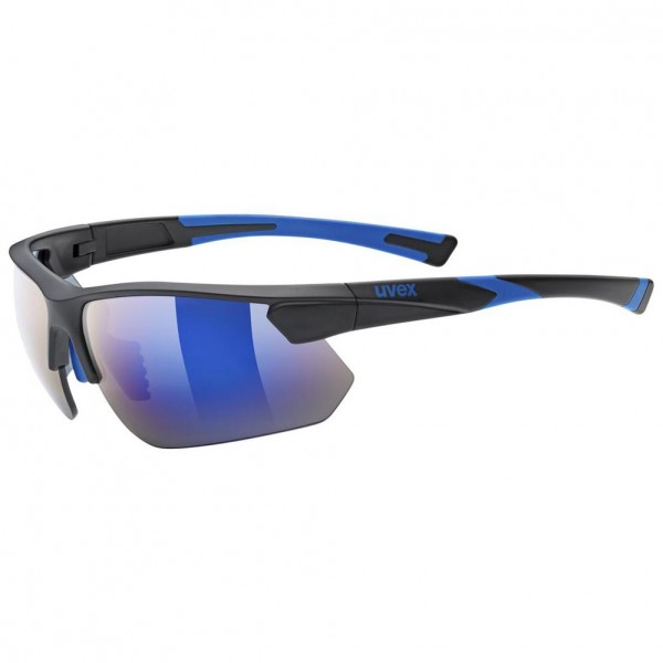 uvex sportstyle 221 blk blue m/mir.blue