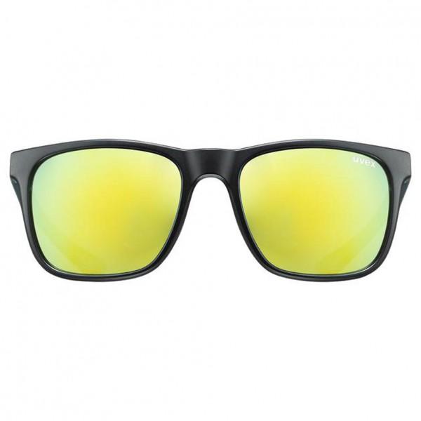 uvex lgl 42 blk. green mat/mir.yellow