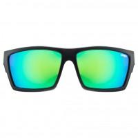 Vorschau: uvex lgl 29 black mat / mirror green