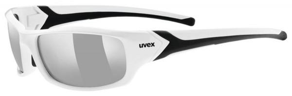 uvex sportstyle 211 white black/ltm.sil.