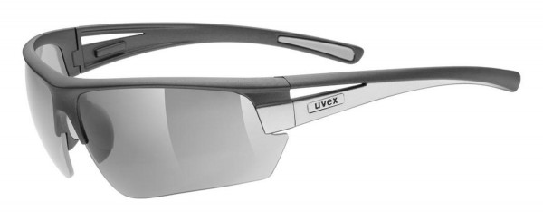 uvex gravic dk.grey m.silv./ ltm.silver